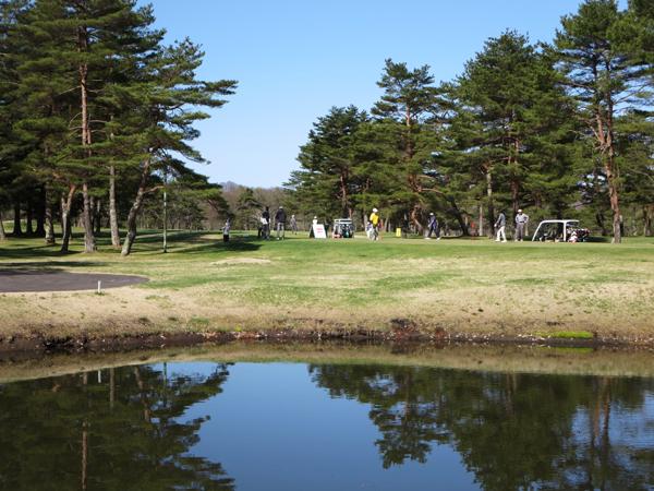 春たけなわなゴルフ場〜♪